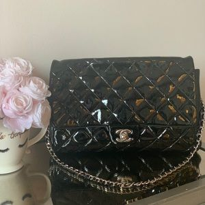 Chanel Classic Patent Leather Single Flap